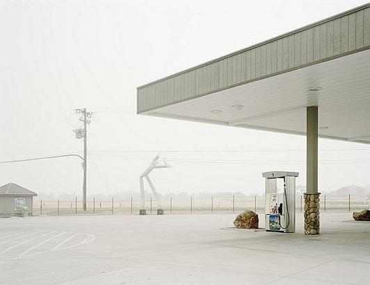 Youngsuk Suh Gas Station - Courtesy Elizabeth Clement Fine Art NY