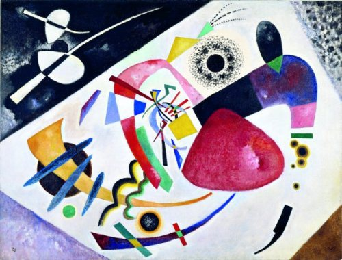 Vasily Kandinsky, red spot ii