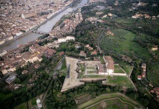 Firenze, veduta aerea di Forte Belvedere 2016-02-14 © Massimo Sestini